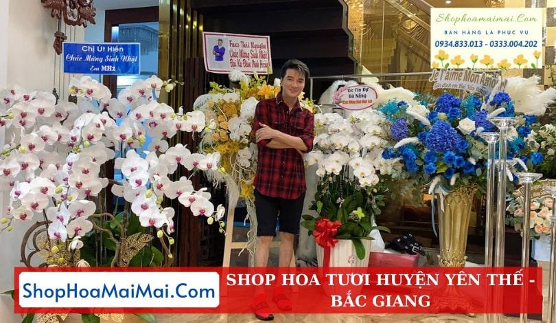 Shop Hoa Tươi Huyện Yên Thế