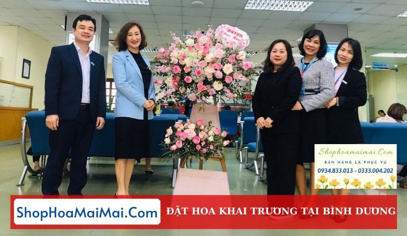 Shop Hoa Khai Trương Bình Dương