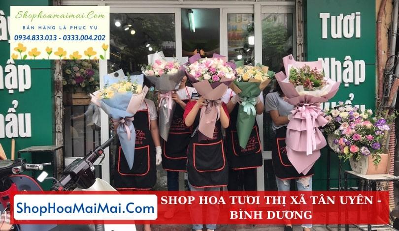 Cửa Hàng Hoa Tươi Thị Xã Tân Uyên