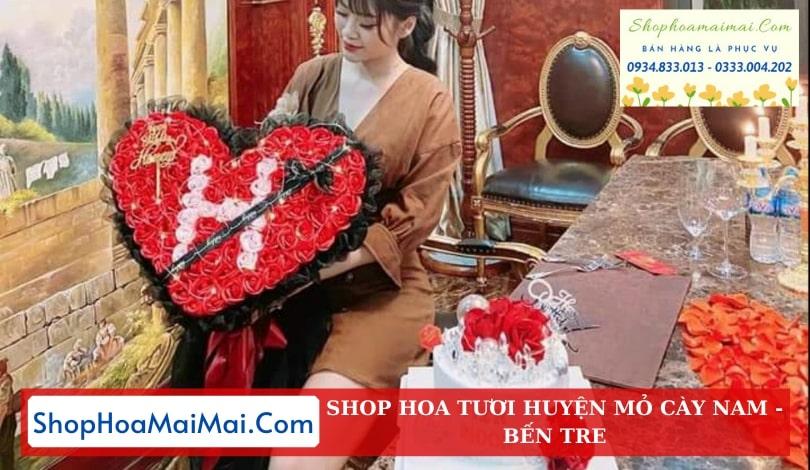Shop Hoa Sinh Nhật Huyện Mỏ Cày Nam
