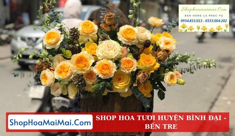 Cắm Hoa Theo Yêu Cầu Huyện Bình Đại