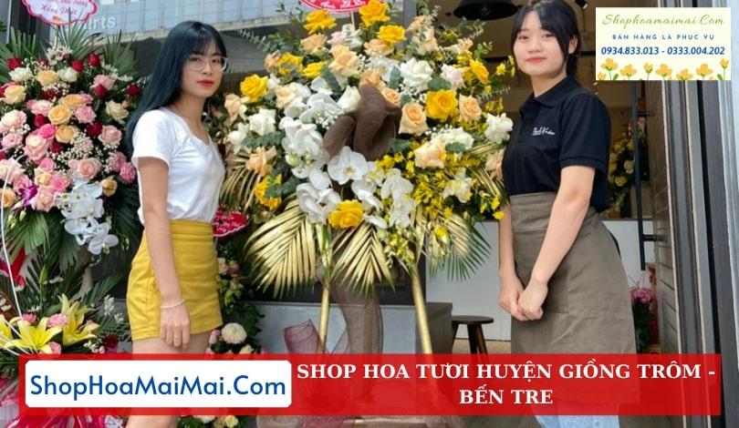 Cửa Hàng Hoa Huyện Giồng Trôm