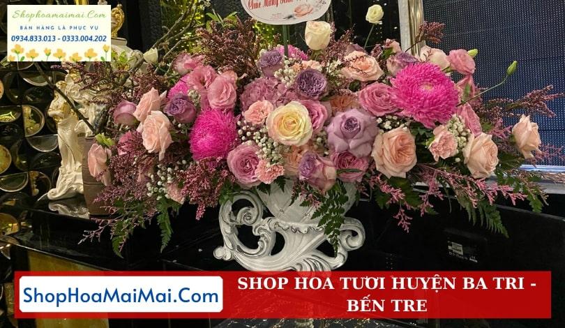 Tiệm Hoa Tươi Huyện Ba Tri