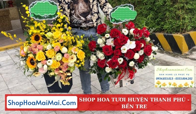 Cửa Hàng Hoa Tươi Huyện Thạnh Phú