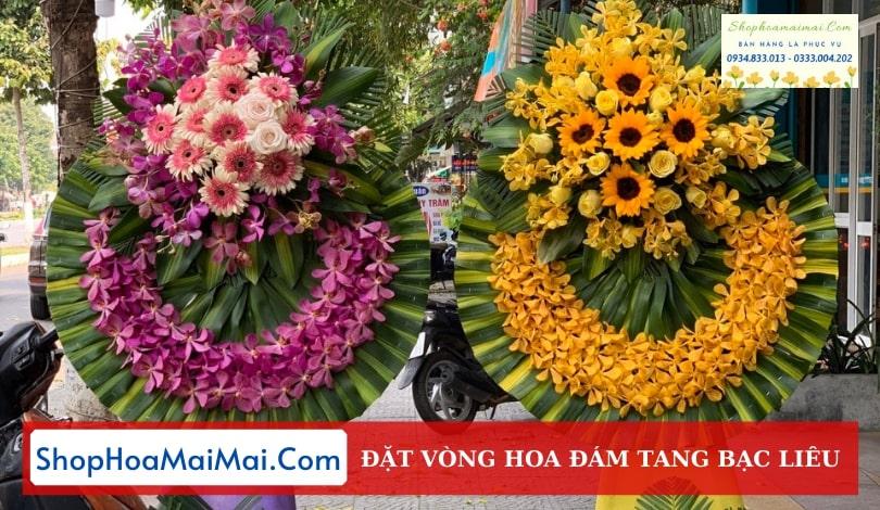 Tiệm Hoa Tang Lễ Tại Bạc Liêu
