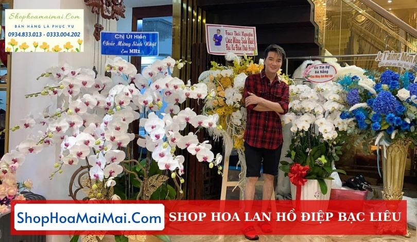 Tiệm Hoa Lan Hồ Điệp Tại Bạc Liêu