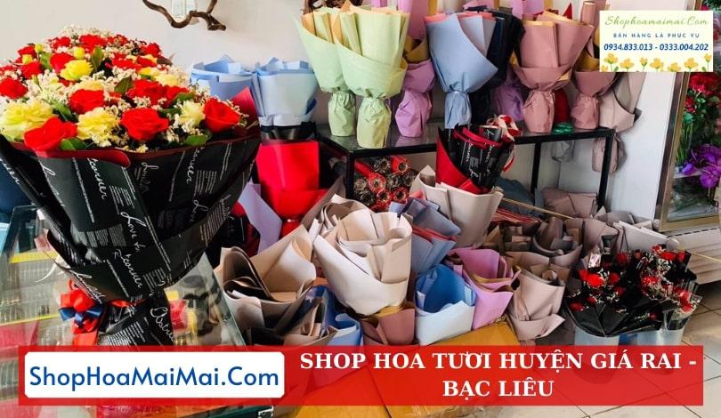 Shop Hoa Tươi Huyện Giá Rai