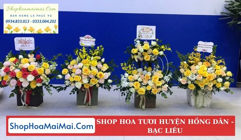 Cửa Hàng Hoa Tươi Huyện Hồng Dân
