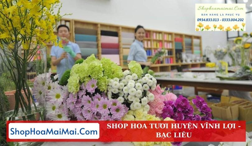Cửa Hàng Hoa Huyện Vĩnh Lợi