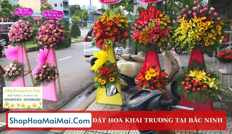Cửa Hàng Hoa Khai Trương Bắc Ninh
