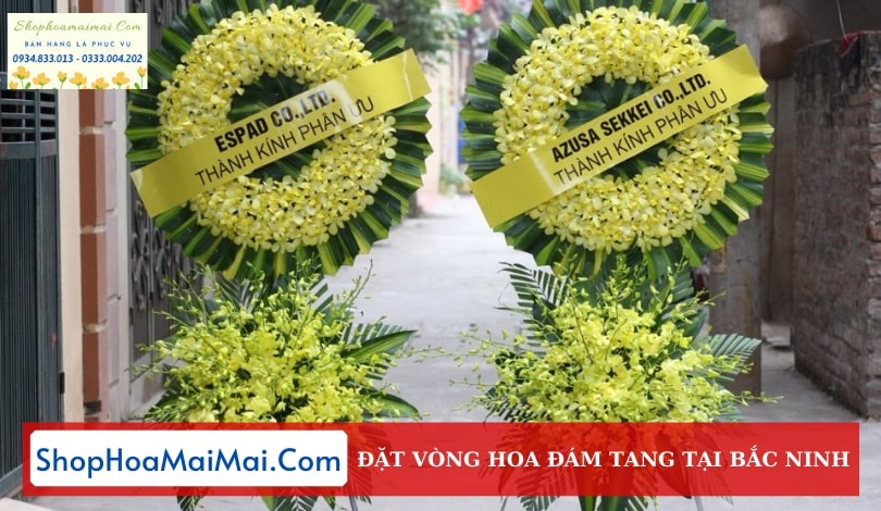 Shop Hoa Chia Buồn Tại Bắc Ninh