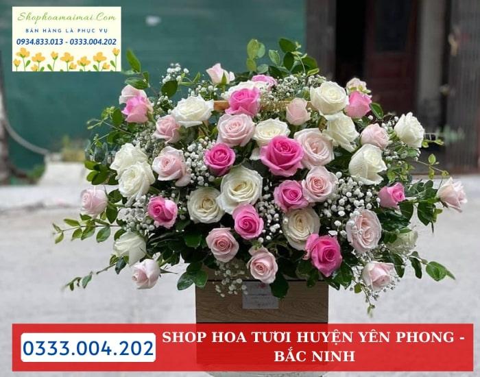 Cắm Hoa Theo Yêu Cầu Huyện Yên Phong