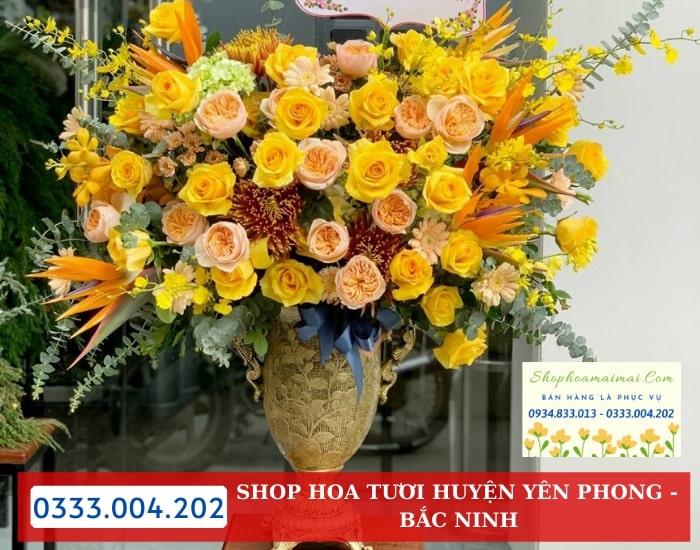 Tiệm Hoa Tươi Huyện Yên Phong