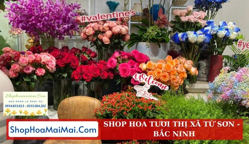 Cửa Hàng Hoa Tươi Tại Bắc Ninh