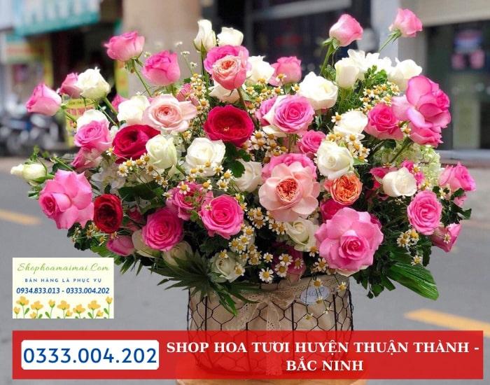 Dịch Vụ Ship Hoa Tươi Huyện Thuận Thành