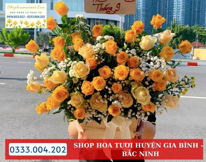 Đặt Hoa Online Tại Huyện Gia Bình