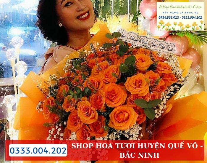 Cắm Hoa Theo Yêu Cầu Huyện Quế Võ