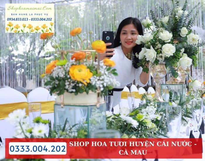 Dịch Vụ Cắm Hoa Theo Mẫu Tại Cà Mau