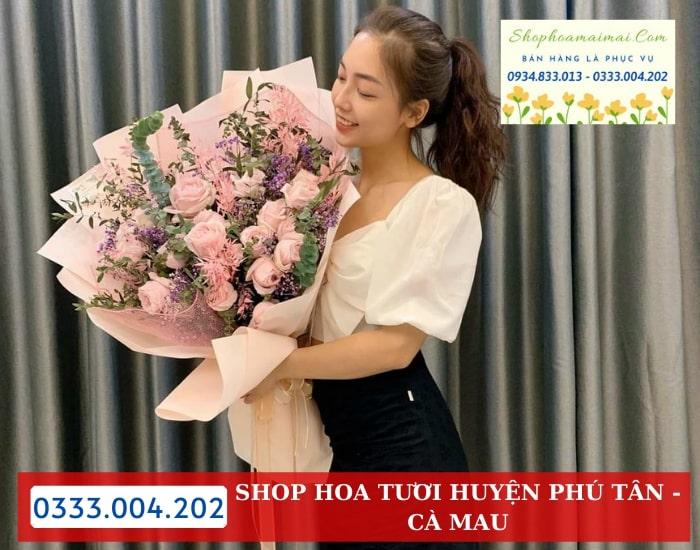 Đặt Hoa Sinh Nhật Huyện Phú Tân