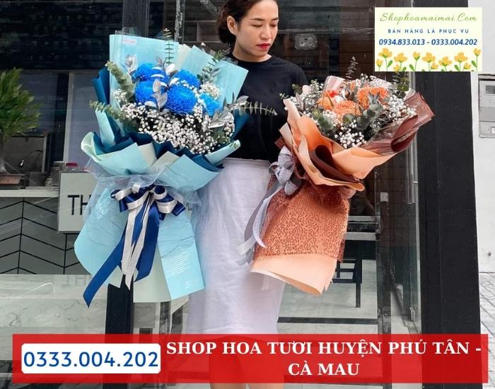 Shop Hoa Tặng Ngày Lễ Tình Nhân 14/2 Tại Cà Mau