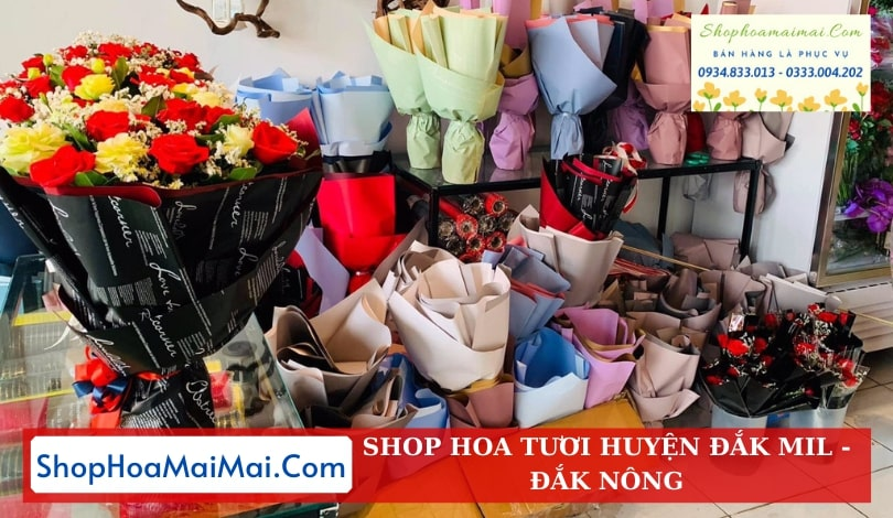Cửa Hàng Hoa Tươi Huyện Đắk Mil