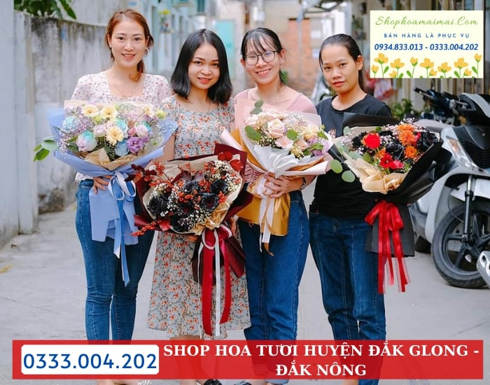 Shop Hoa Tươi Huyện Đắk Glong