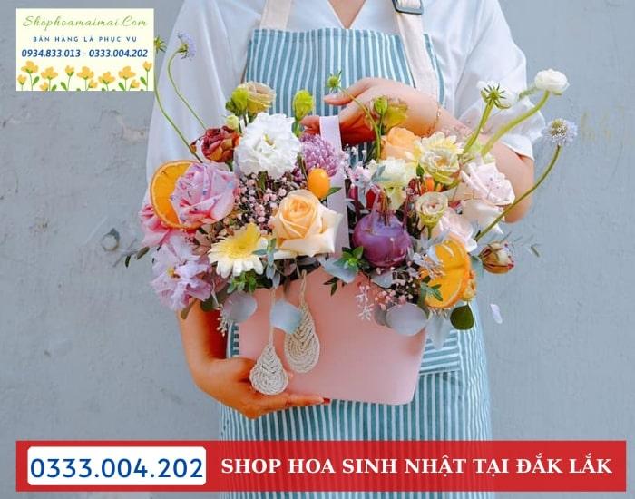 Tiệm Hoa Sinh Nhật Tại Đắk Lắk