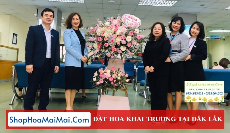 Shop Hoa Khai Trương Tại Đắk Lắk