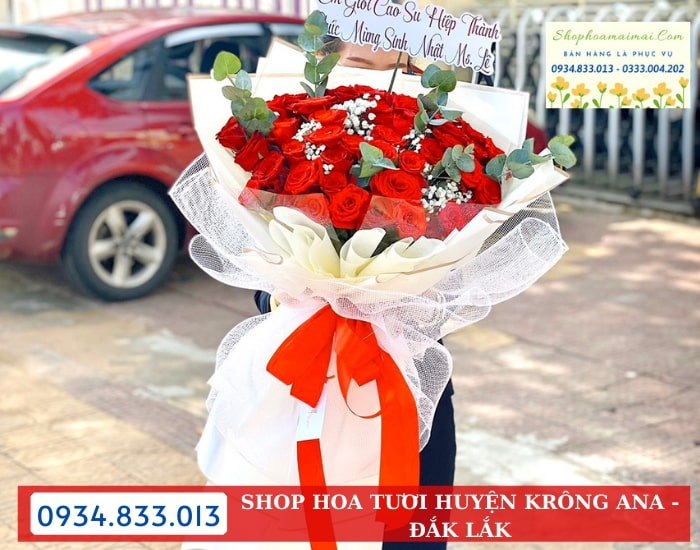 Đặt Hoa Online Tại Krông Ana