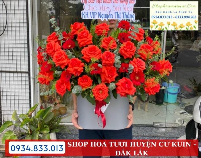 Mua Hoa Tươi Online Tại Huyện Cư Kuin
