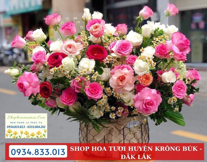 Mua Hoa Tươi Online Huyện Krông Búk