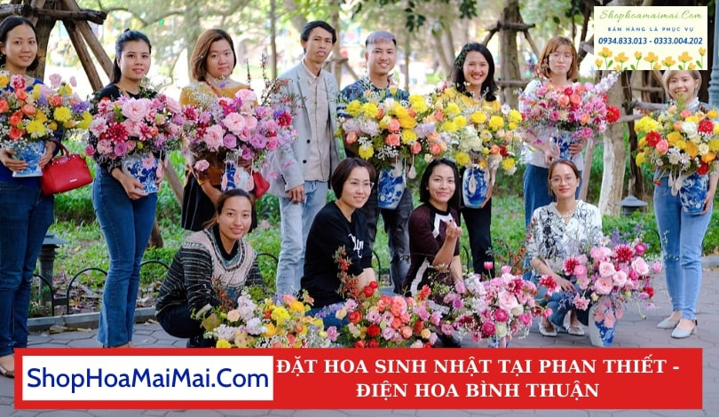 Cửa Hàng Hoa Sinh Nhật Phan Thiết