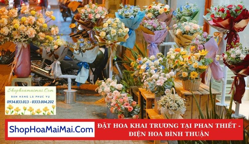 Cửa Hàng Hoa Khai Trương Phan Thiết