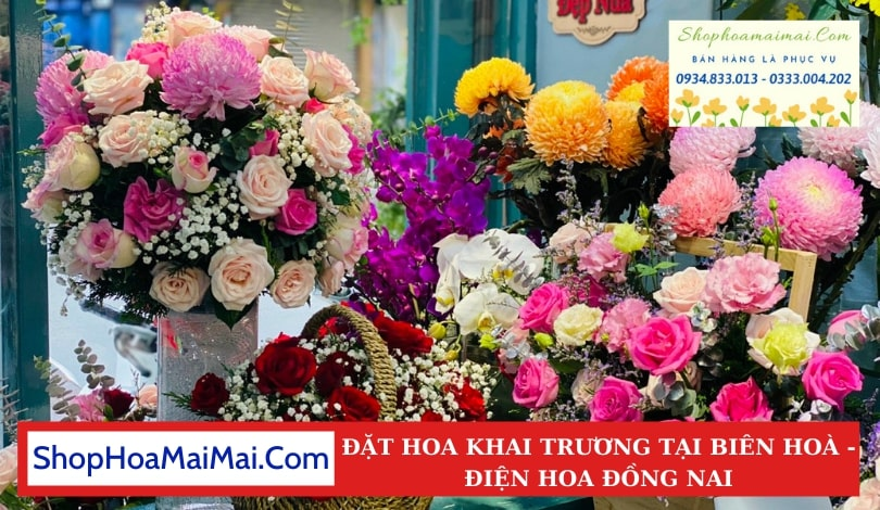 Tiệm Hoa Khai Trương Biên Hoà