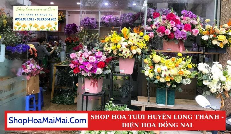 Cửa Hàng Hoa Tươi Huyện Long Thành