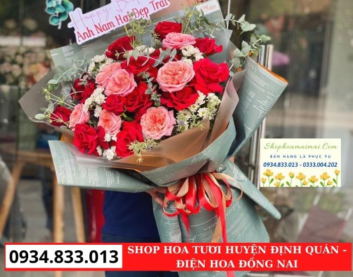 Tiệm Hoa Sinh Nhật Huyện Định Quán