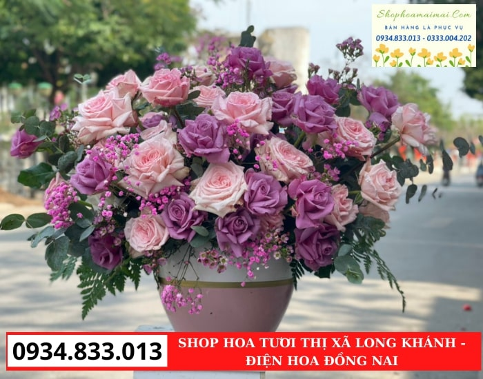 Cắm Hoa Theo Yêu Cầu Tại Long Khánh