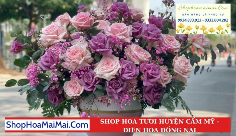 Cắm Hoa Theo Yêu Cầu Huyện Cẩm Mỹ