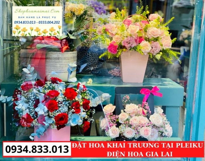 Cửa Hàng Hoa Khai Trương Pleiku