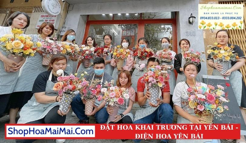 Cửa Hàng Hoa Khai Trương Tại Yên Bái