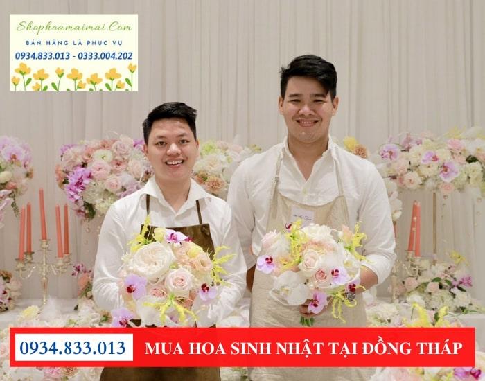 Mua hoa sinh nhật tại điện hoa Cao Lãnh