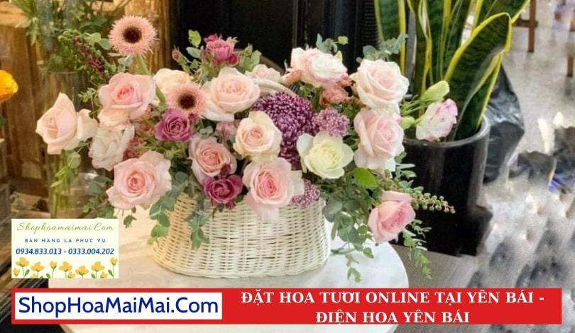Cắm Hoa Theo Yêu Cầu Tại Yên Bái