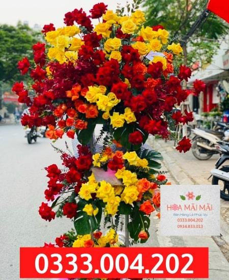 Tiệm Hoa Khai Trương Tại Yên Bái