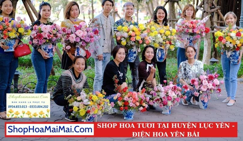 Shop Hoa Tươi Tại Huyện Lục Yên