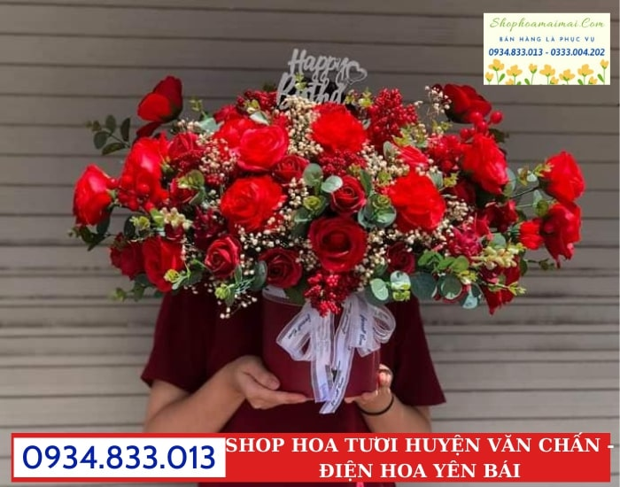 Cắm Hoa Theo Yêu Cầu Tại Văn Chấn