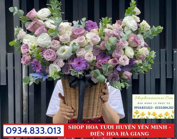 Tặng Hoa Ý Nghĩa Huyện Yên Minh