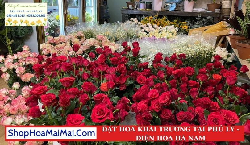 Cửa Hàng Hoa Khai Trương Hà Nam