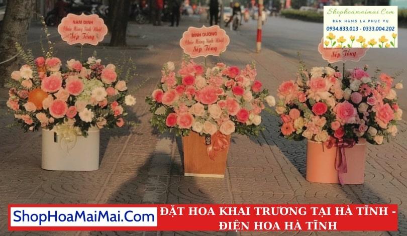 Cửa Hàng Hoa Khai Trương Hà Tĩnh