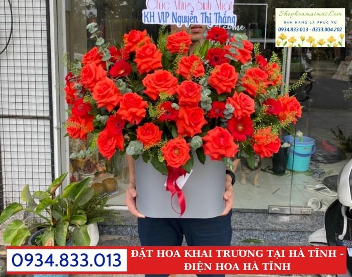 Cắm Hoa Khai Trương Theo Yêu Cầu Hà Tĩnh