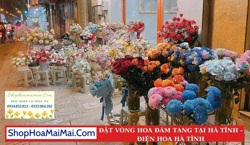 Ship Vòng Hoa Đám Tang Tại Hà Tĩnh